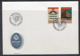 Liechtenstein 1990 Europa Post Offices FDC - FDC
