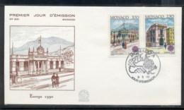 Monaco 1990 Europa Post Offices FDC - FDC