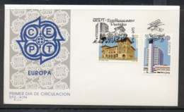 Spain 1990 Europa Post Offices FDC - FDC