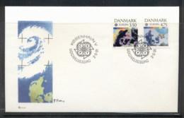 Denmark 1991 Europa Man In Space FDC - FDC
