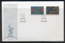 Finland 1991 Europa Man In Space FDC - Finland