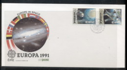 Ireland 1991 Europa Man In Space FDC - FDC