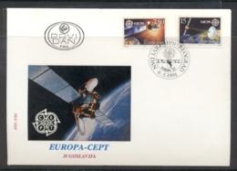 Yugoslavia 1991 Europa Man In Space FDC - FDC
