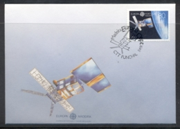 Madeira 1991 Europa Man In Space FDC - Madeira