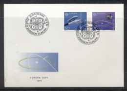 Switzerland 1991 Europa Man In Space FDC - FDC
