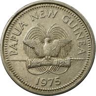 Monnaie, Papua New Guinea, 10 Toea, 1975, TTB, Copper-nickel, KM:4 - Papúa Nueva Guinea
