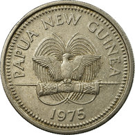 Monnaie, Papua New Guinea, 10 Toea, 1975, TTB, Copper-nickel, KM:4 - Papua-Neuguinea