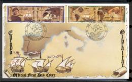 Gibraltar 1992 Europa Columbus Discovery Of America FDC - Gibraltar