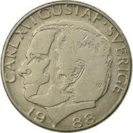 Monnaie, Suède, Carl XVI Gustaf, Krona, 1988, TTB, Copper-nickel, KM:852a - Suède