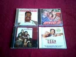 COLLECTION DE 4 CD ALBUM DE MUSIQUE DE FILM ° THE NUTTY PROFESSOR + WITH HONORS + SPEED 2+ S.O.A.P. - Musique De Films