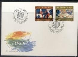 Luxembourg 1993 Europa Modern Art FDC - FDC
