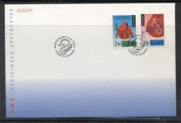 Aland 1994 Europa Scientific Discoveries FDC - Aland