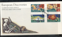 Guernsey 1994 Europa Scientific Discoveries FDC - Guernsey