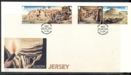 Jersey 1994 Europa Scientific Discoveries FDC - Jersey