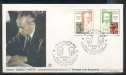 Italy 1994 Europa Scientific Discoveries FDC - 6. 1946-.. Republic