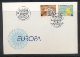 Luxembourg 1994 Europa Scientific Discoveries FDC - FDC