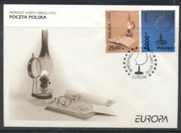 Poland 1994 Europa Scientific Discoveries FDC - FDC
