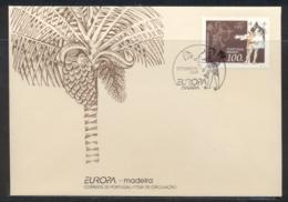 Madeira 1994 Europa Scientific Discoveries FDC - Madeira