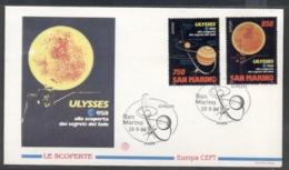 San Marino 1994 Europa Scientific Discoveries FDC - FDC