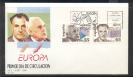 Spain 1994 Europa Scientific Discoveries FDC - FDC