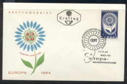 Austria 1964 Europa Daisy Of Petals FDC - FDC