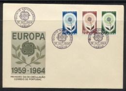 Portugal 1964 Europa Daisy Of Petals FDC - FDC