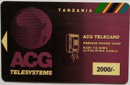 ACG 2000 Shillings - Tanzania