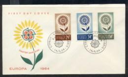 Cyprus 1964 Europa Daisy Of Petals FDC - Cyprus (Republic)