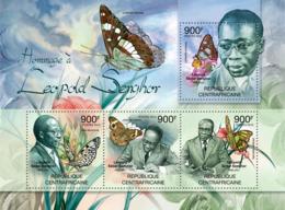 Central Africa 2012  Leopold Senghor, Senegalese Poet, Politician - Central African Republic