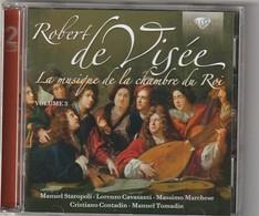 Cd  ROBERT DE VISEE  La Musique De La Chambre Du Roi (2 Cd) Etat: TTB Port 140 GR - Classique