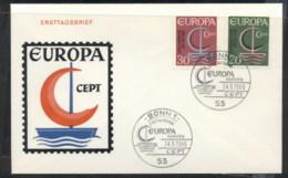 Germany 1966 Europa Sailboat FDC - [7] Federal Republic