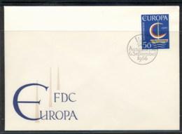 Liechtenstein 1966 Europa Sailboat FDC - FDC