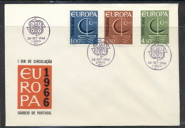 Portugal 1966 Europa Sailboat FDC - FDC