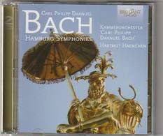 Cd  BACH  Hamburg Symphonies   (2 Cd) Etat: TTB Port 140 GR - Classique
