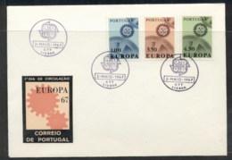 Portugal 1967 Europa Cogwheels FDC - FDC