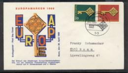 Germany 1968 Europa Key With Emblem FDC - [7] Federal Republic
