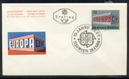 Austria 1969 Europa Building FDC - FDC