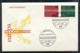 Germany 1971 Europa Chain Through O FDC - [7] Federal Republic