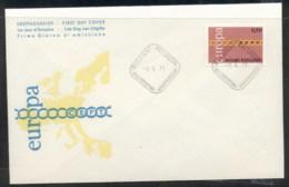 Finland 1971 Europa Chain Through O FDC - Finland