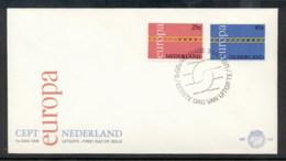 Nederland 1971 Europa Chain Through O FDC - FDC