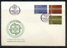 Portugal 1971 Europa Chain Through O FDC - FDC