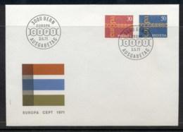 Switzerland 1971 Europa Chain Through O FDC - FDC