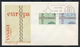 Spain 1971 Europa Chain Through O FDC - FDC