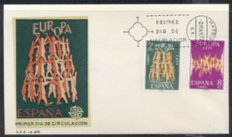 Spain 1972 Europa Sparkles FDC - FDC