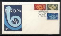 Greece 1973 Europa Posthorn Arrow FDC - FDC