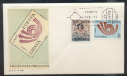Spain 1973 Europa Posthorn Arrow FDC - FDC