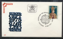Austria 1975 Europa Paintings FDC - FDC