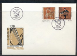 Portugal 1975 Europa Paintings FDC - FDC