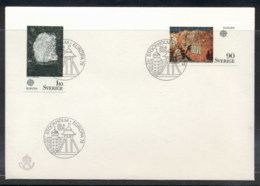 Sweden 1975 Europa Paintings FDC - FDC