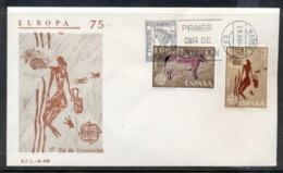 Spain 1975 Europa Paintings FDC - FDC